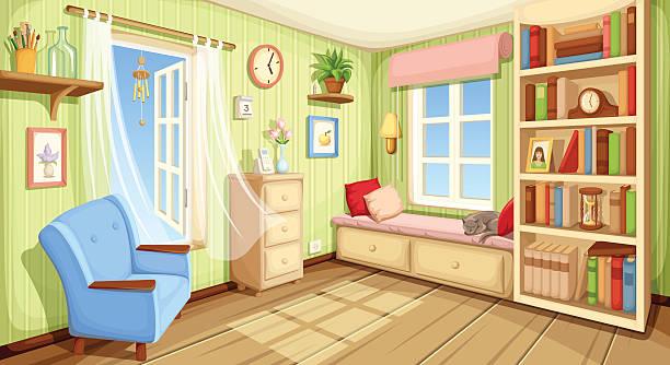 Best Empty Living Room Illustrations, Royalty.