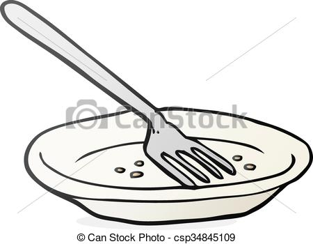 Empty plate clipart 4 » Clipart Station.