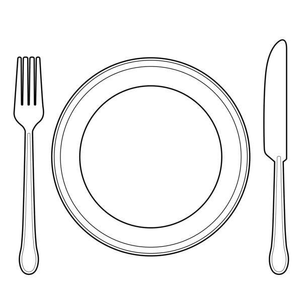 Best Empty Plate Illustrations, Royalty.