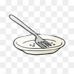 Empty plate clipart 9 » Clipart Station.