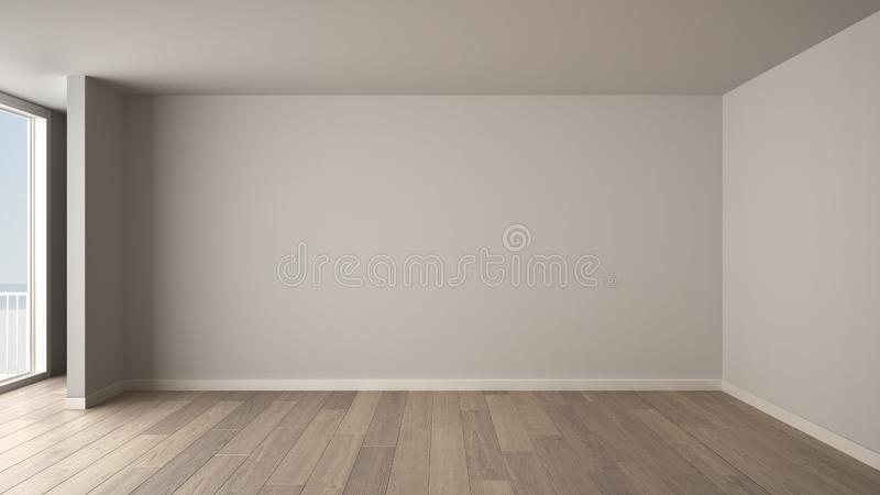 Empty Room Stock Illustrations.