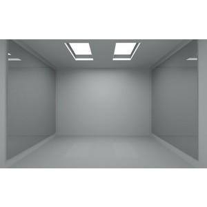 empty rooms.