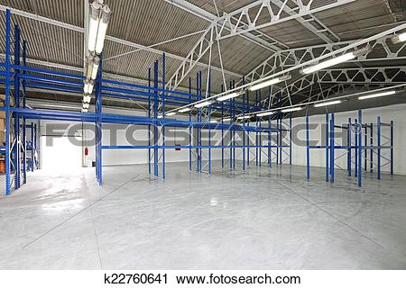 Stock Photography of Empty storage room k22760641.
