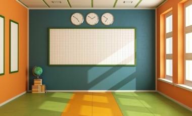 Empty Classroom Clipart.