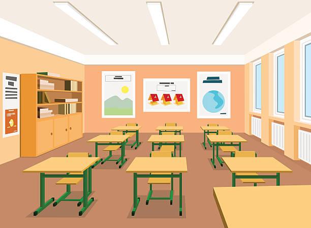 empty school classroom clipart - Clipground