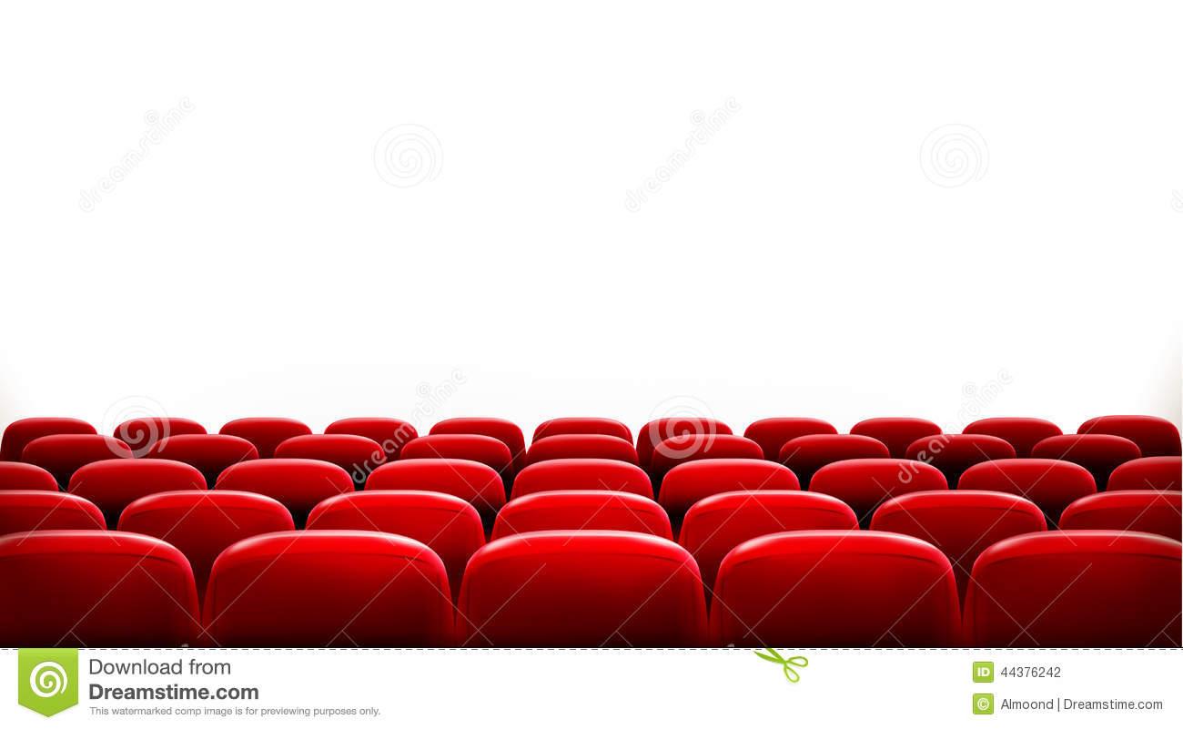 Theatre seats clipart.