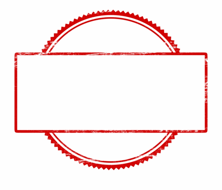 Stamp Empty Png.