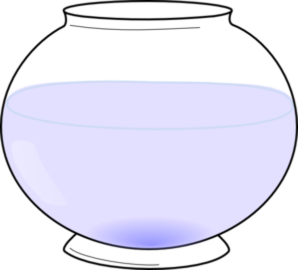 Fishbowl clipart empty vase, Fishbowl empty vase Transparent FREE.