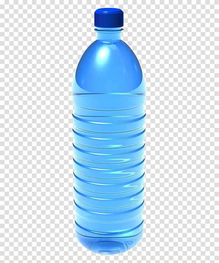 Blue water bottle , Water bottle Plastic bottle , Empty.