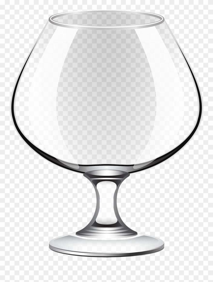 Empty Wine Glass Clip Art.