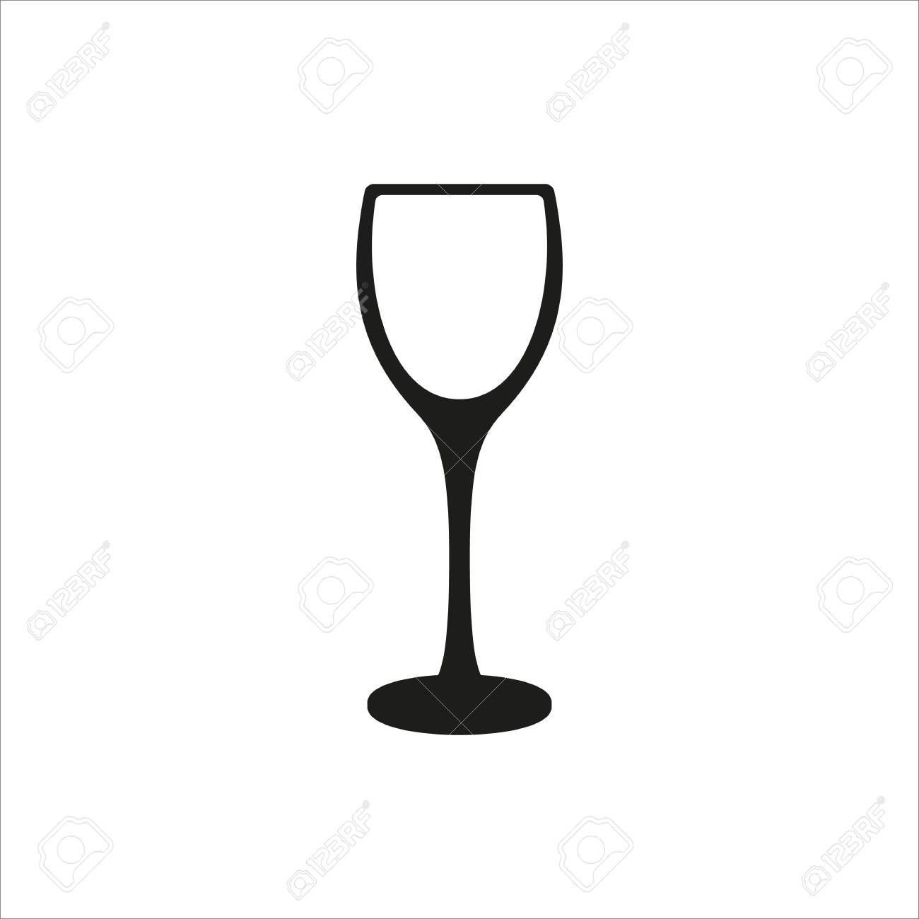 empty wine glass icon Created For Mobile, Web, Decor, Print Products,...