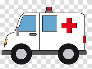 Nontransporting Ems Vehicle transparent background PNG.