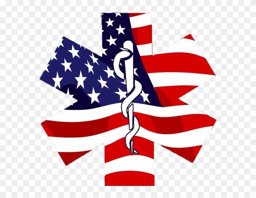 American Flag Ems Logo Clipart (#4917046).
