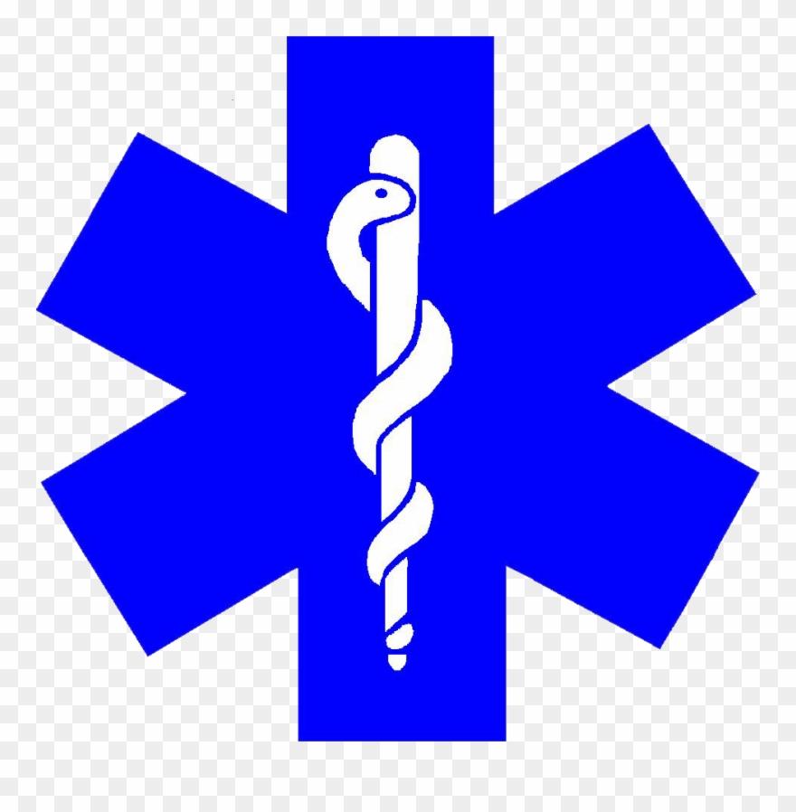 Image Description Ems Symbol Star Of Life Clip Art.