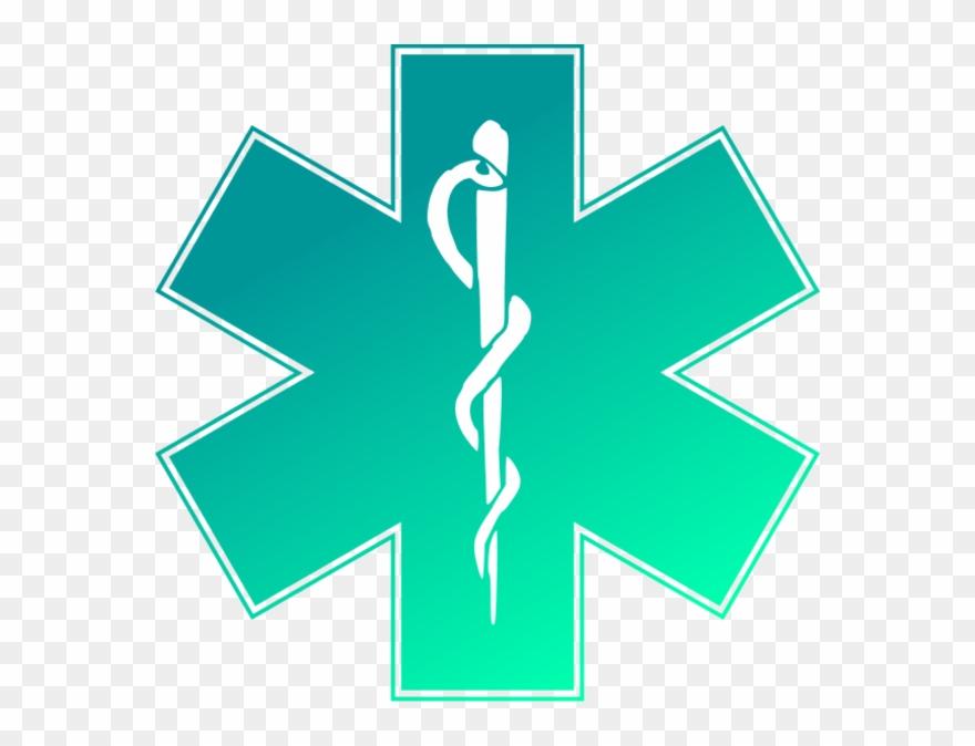Ems Emergency Medical Service Logo Vector Clip Art.