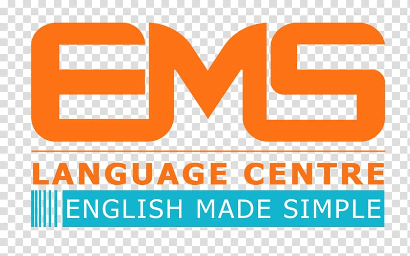 EMS language centre Logo Institute Brand, others transparent.