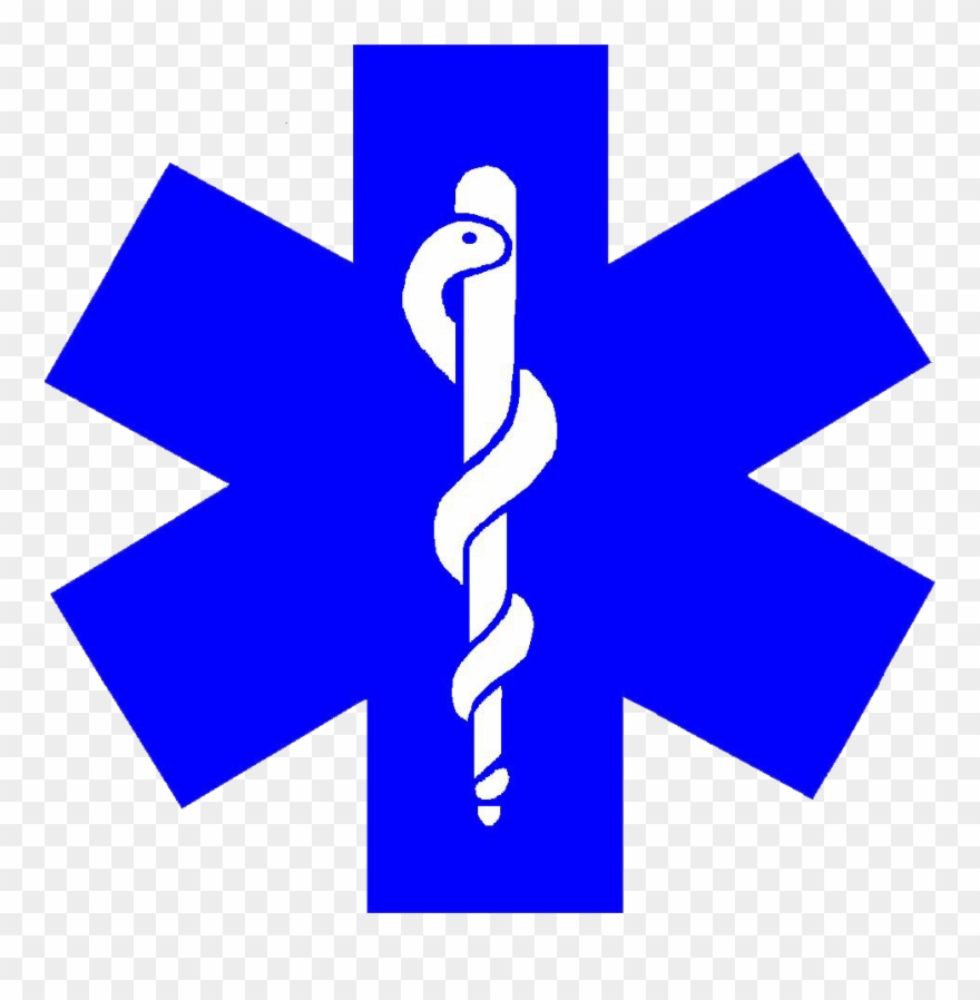Image Description Ems Symbol Star Of Life Clip Art.