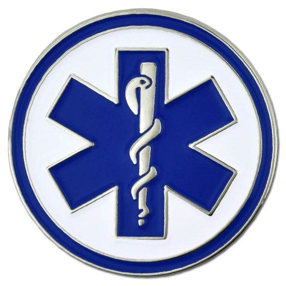 EMT Medical Pin.