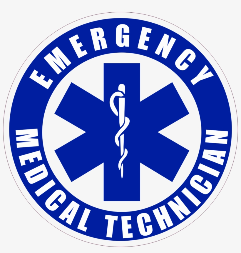 Caduceus Staff Star Of Life Emergency Medical Technician.