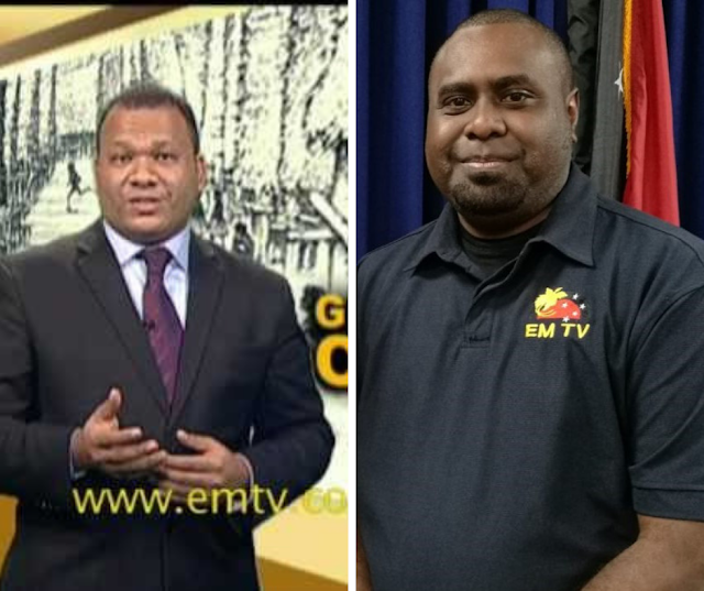 Staff protest as EMTV News boss sacked.