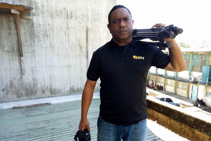 Suspension of senior PNG journalist Scott Waide overturned after.