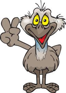 Emu Clip Art Free.
