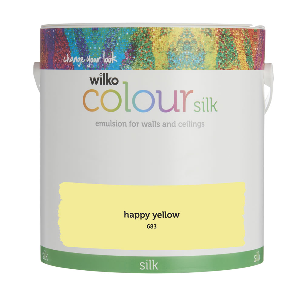 Matt Durable Paint Wilko Happy Yellow