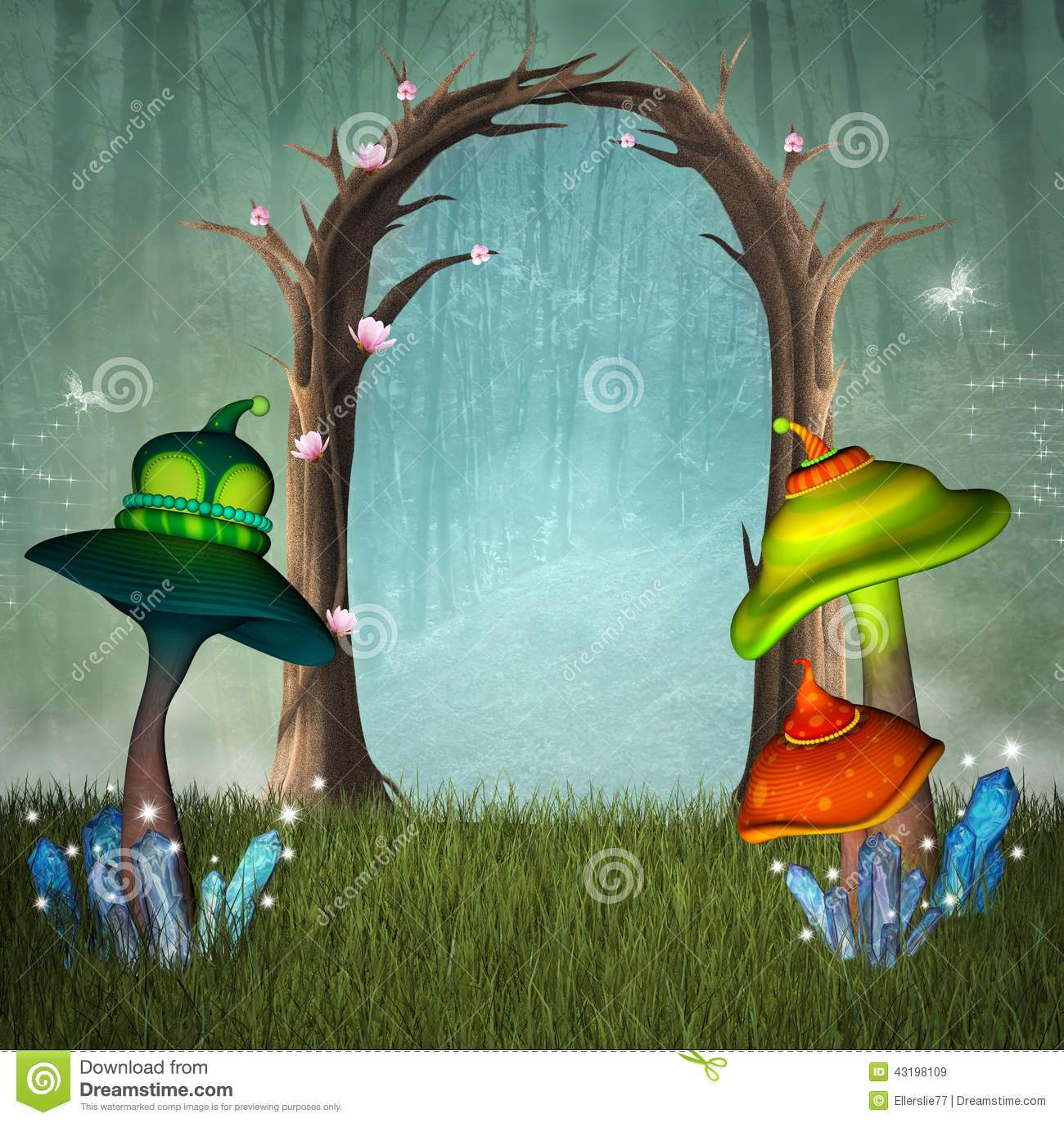 Enchanted forest clipart 8 » Clipart Portal.