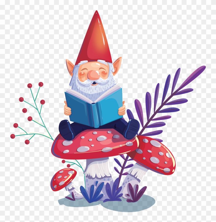 Enchanted Forest Book Fair Clipart.