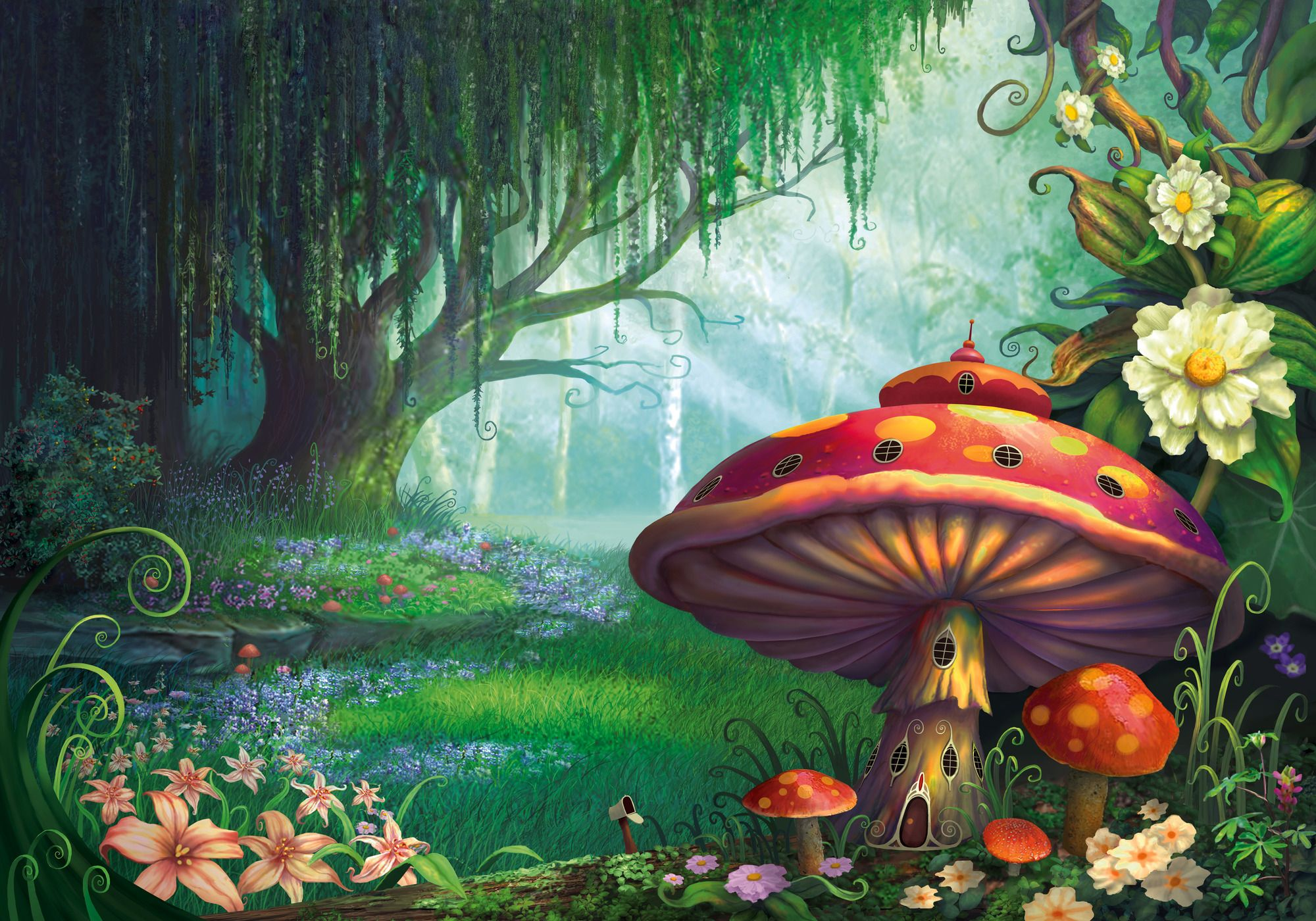 Enchanted forest clipart 4 » Clipart Station.