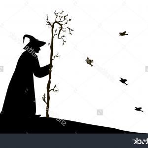 Hd Bird On Branch Clip Art Draw.