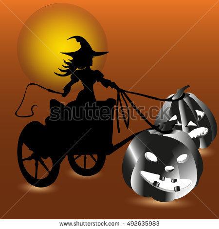 Pumpkin Cart Stock Vectors, Images & Vector Art.