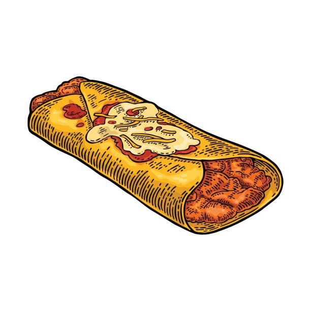 Best Enchiladas Illustrations, Royalty.