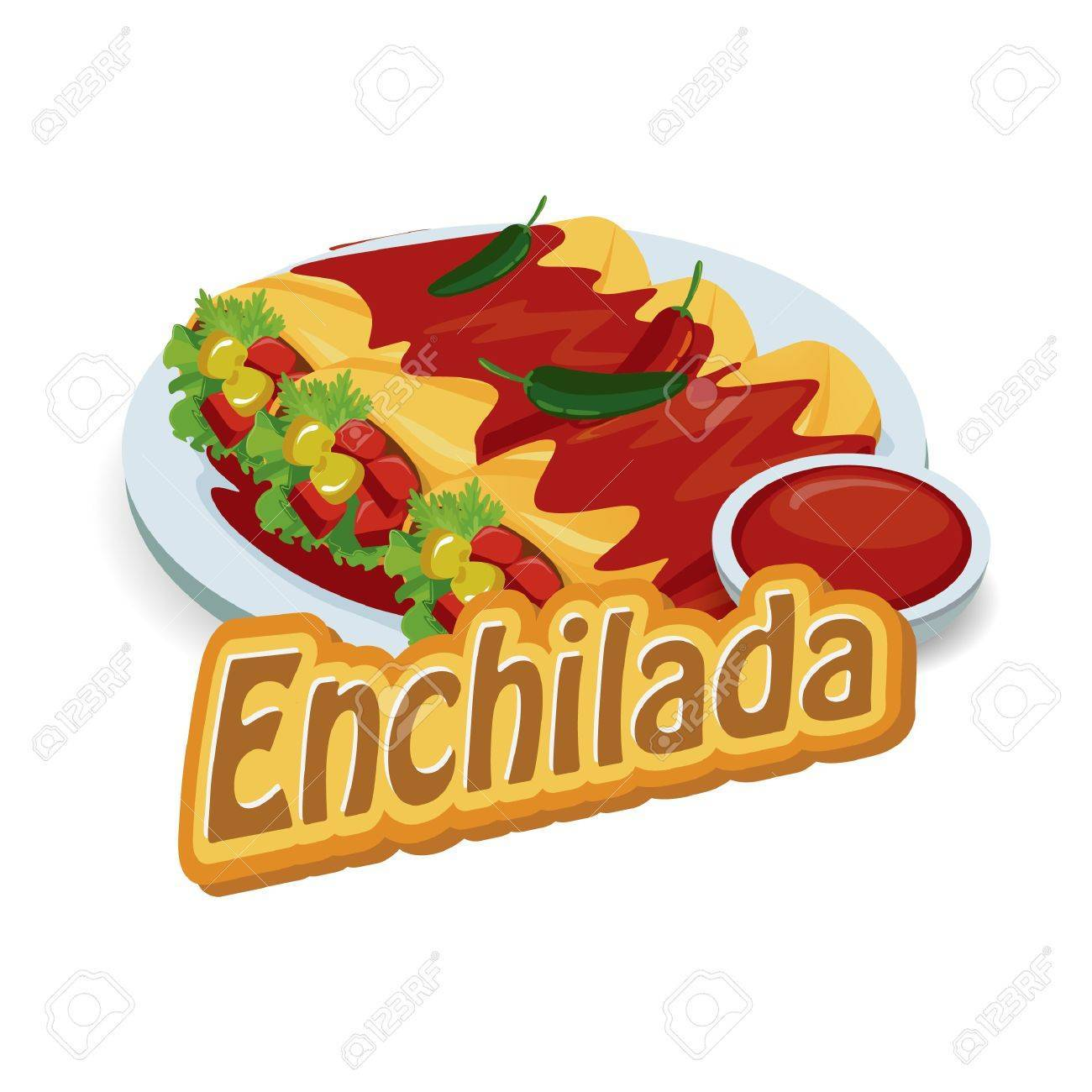 Enchilada clipart 8 » Clipart Portal.