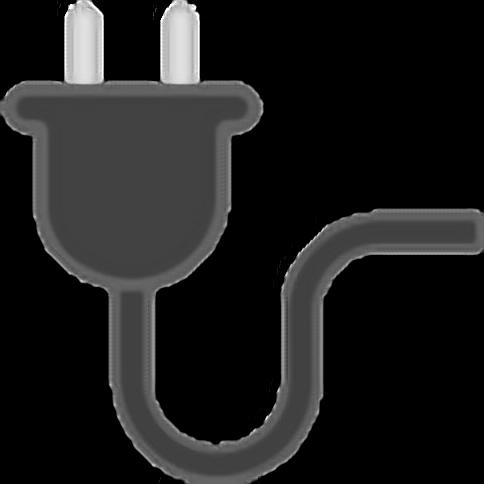 enchufe cable enchufador enchufadora emojienchufe emoji.