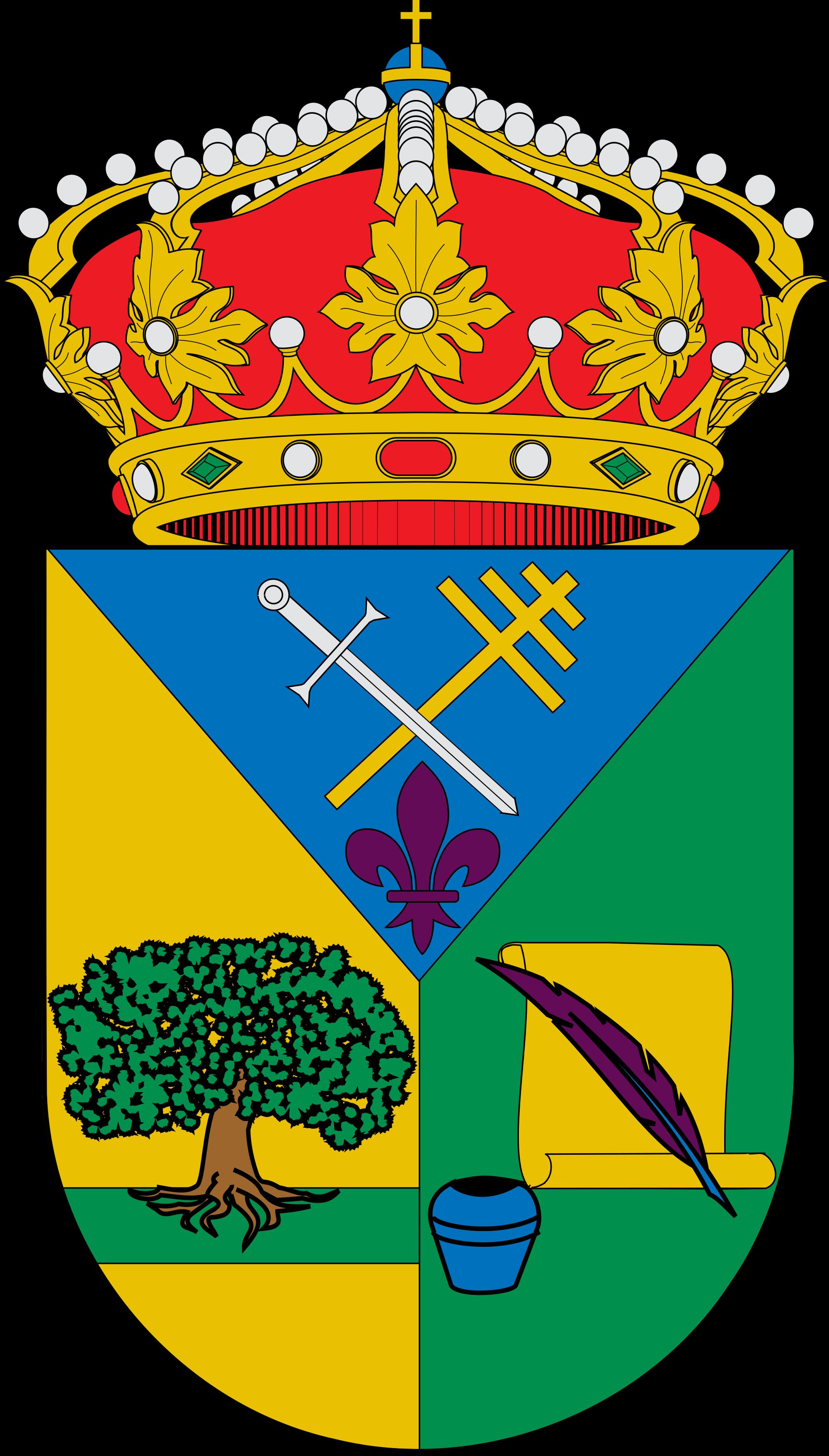 File:Escudo de La Encina de San Silvestre.svg.