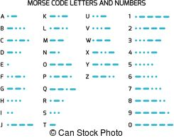Morse code Clipart and Stock Illustrations. 63 Morse code vector.