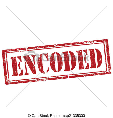 Encoded clipart.