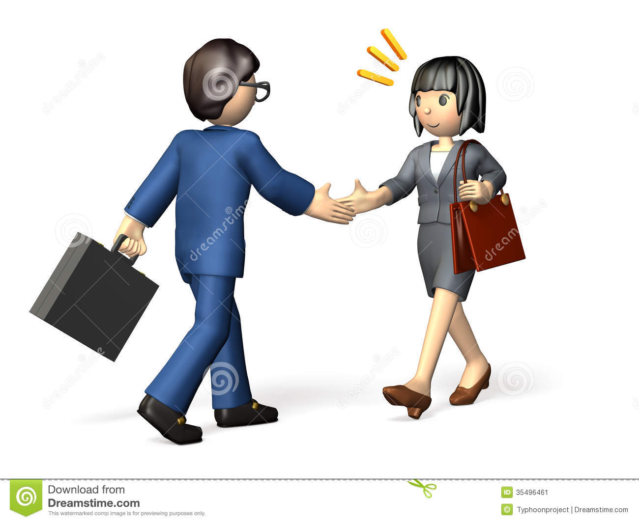 Business Partner Stock Image.