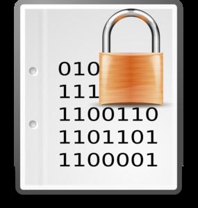 Encrypt icon clipart.