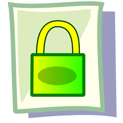 Free Clipart of Encrypted.