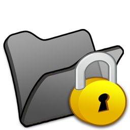 encrypted folder black png image.