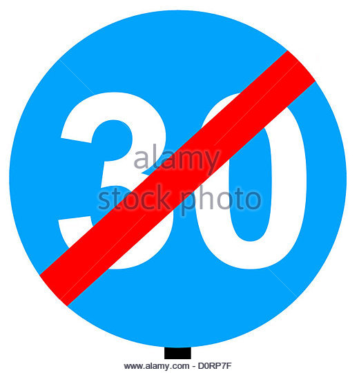 End Of Speed Limit Stock Photos & End Of Speed Limit Stock Images.