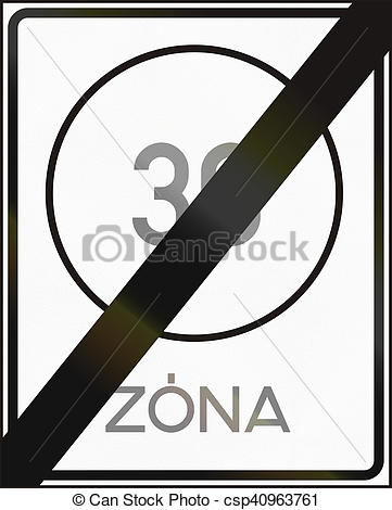 Stock Image of Road sign used in Hungary.