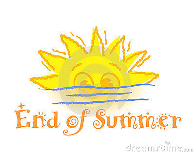 End Of Summer Clipart.