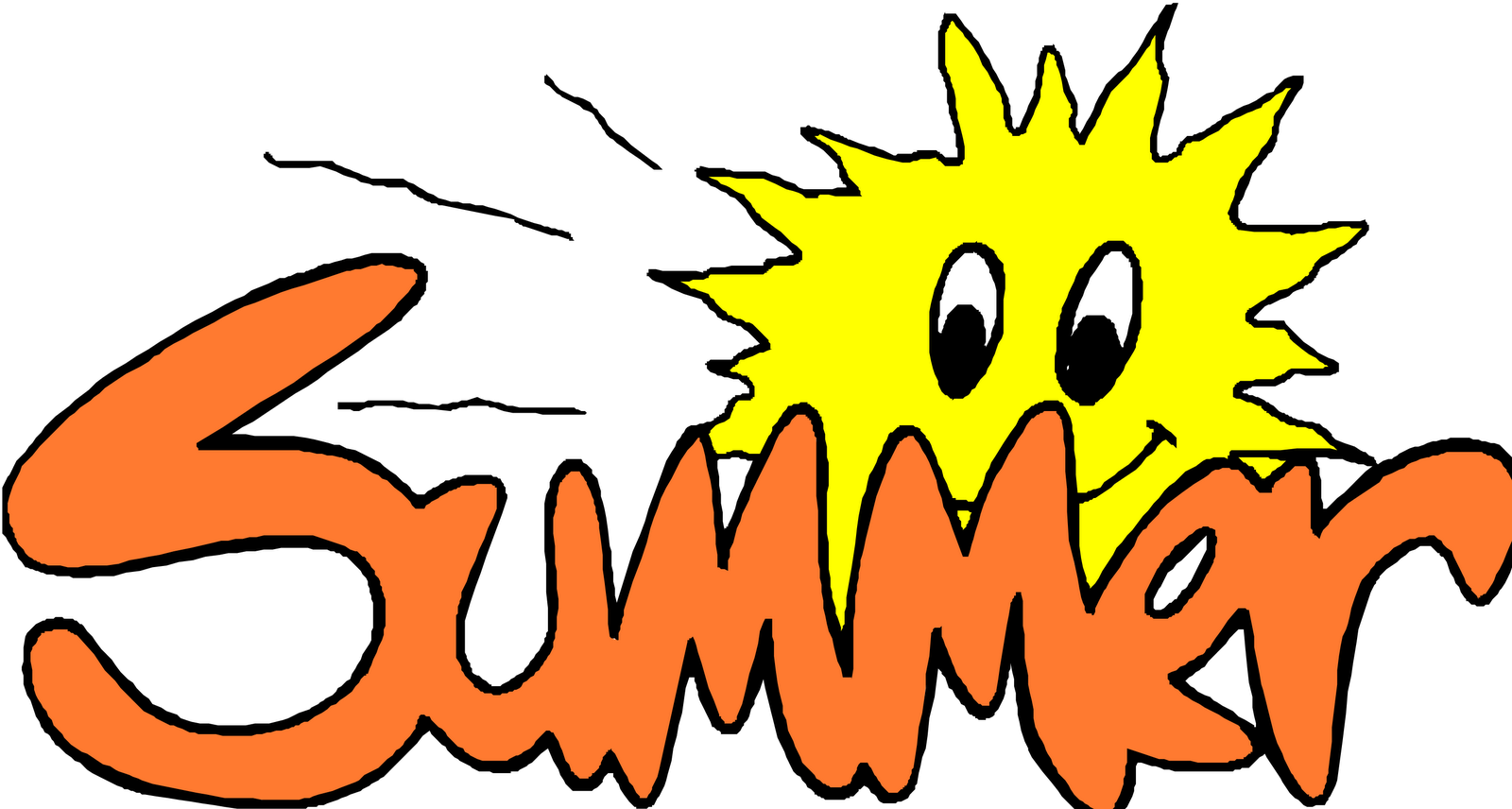 End Of Summer Clip Art.