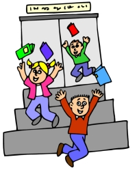 End Of School Day Clipart.