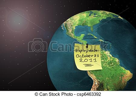 Clip Art of end of the world 2011.