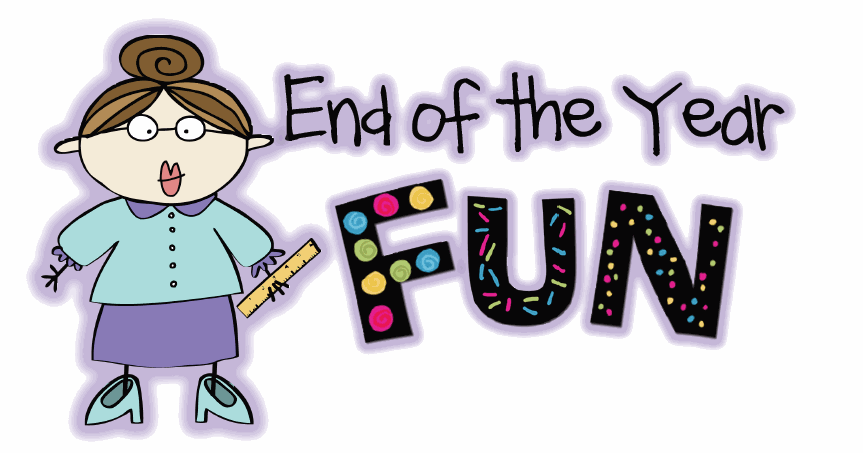 End of year clipart.