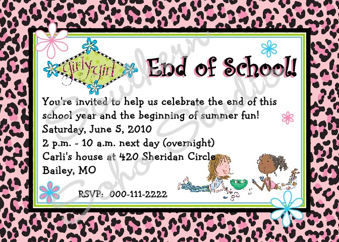 End of School Year Party Clip Art (29+).